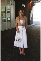 Natasha Zinko dress - kate spade bag - Alexander White heels