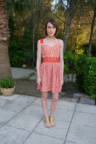 Topshop dress - Angel Jackson bag - Sandal and The Cratfsman sandals