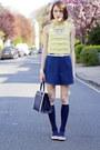 Kate-spade-bag-american-apparel-skirt-kate-spade-bracelet
