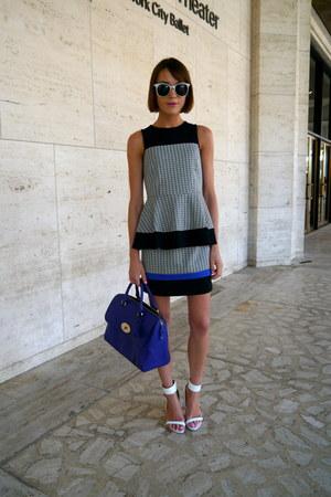 Mulberry bag - Tibi skirt - Tibi top - Aldo sandals