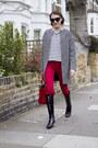 Saint-laurent-boots-alice-olivia-coat-zara-jeans-lulu-guinness-bag