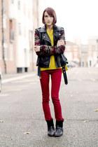 Forever 21 jeans - Massimo Dutti boots - Forever 21 jacket - Forever 21 jumper