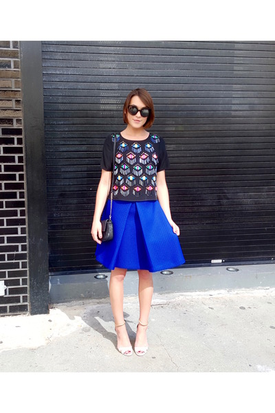 milly top - milly skirt - Pollini sandals