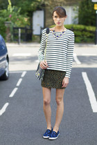 Angel Jackson bag - JCrew necklace - Petit Bateau top - H&M skirt - Gap sneakers