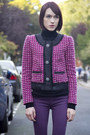 Hudson-jeans-jcrew-jacket-gap-sweater-oliver-bonas-bag