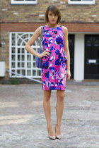 Milly by Michelle Smith dress - Rebecca Minkoff bag