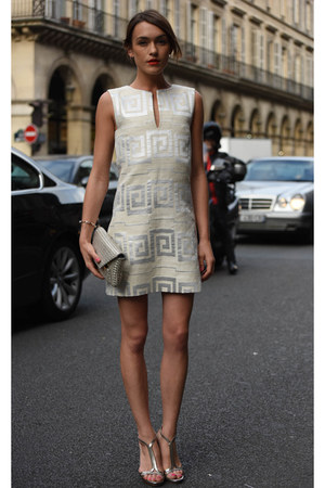 tory burch dress - tory burch bag - tory burch heels