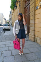 31 Phillip Lim bag - SANDRO jacket - cutler and gross sunglasses