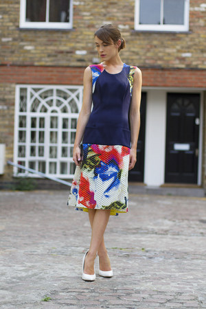 Teatum Jones dress - 31 Phillip Lim bag - Kurt Geiger wedges