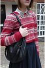 Zara-shirt-thrifted-vintage-hat-marc-by-marc-jacobs-bag-zara-jumper