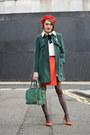 Whistles-coat-alice-olivia-bag-maje-blouse-coach-heels-coach-skirt