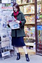 Massimo Dutti boots - Massimo Dutti coat - Massimo Dutti bag