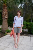 BDG shirt - Urban Outfitters bag - All Saints shorts