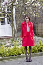 Carven skirt - Carven jacket - Club Monaco blouse
