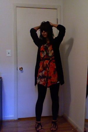 H&M sweater - Double zero dress - Urban Outfitters shoes