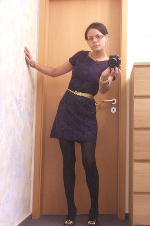 H&M dress - D&G belt - shoes