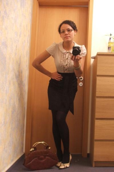 H&M dress - Schu shoes - purse