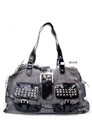 black studded bag bag