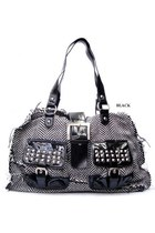 black studded bag bag