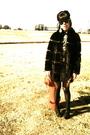 Vintage-coat-juicy-tights-shoes