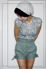 Topshop-shorts-h-m-shirt-h-m-cardigan-reservd-hat-topshop-boots