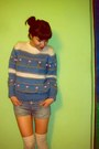 Hand-made-vintage-sweater