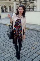 h&m necklace accessories - new yorker bag accessories - vintage shoes