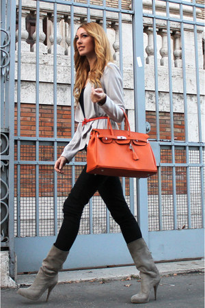 Similar Hermes bag - cinti shoes - Bershka jeans - H&M blazer