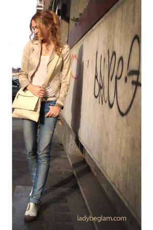 Guya shoes - Zara jeans - Michelle W jacket