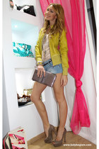 adele fado jacket - laltra marea shoes - Please shorts