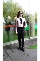 black suede Sportsgirl boots - brown Sportsgirl sunglasses