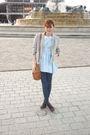 Blue-violette-tannenbaum-dress-asos-jeans-beige-zara-jacket-purple-topshop