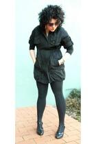dress - tights