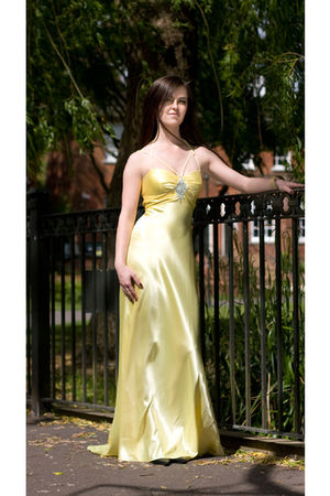 yellow Bridal Shop dress