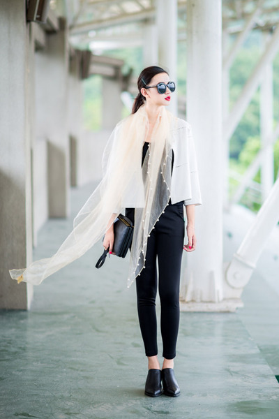 scarf scarf - pants pants