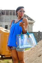 DOT Handbags bag - asos top
