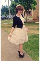 peach modcloth dress