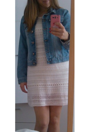 H&M dress - Blumarine jacket
