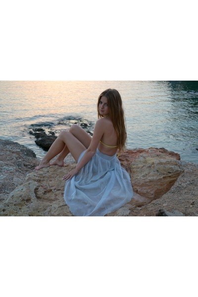 Bershka skirt - Calzedonia swimwear
