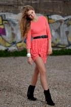 H&M dress - Sacha boots