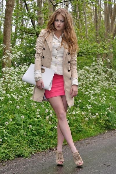 Pinko jacket - H&M skirt - Uterque heels