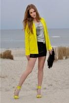 H&M Trend heels - River Island blazer - Dyanne shirt - Zara bag