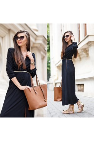 romwe dress - Michael Kors bag