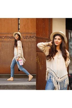 Sheinside jeans - romwe blouse