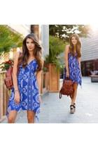 romwe dress - Sheinside bag - Jessica Buurman sandals