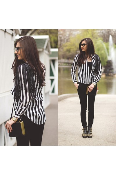 striped PERSUNMALL blouse