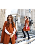 Sheinside cape - Jessica Buurmann boots - asos shirt