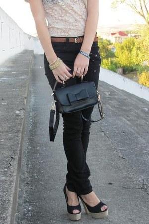 black skinny jeans New Yorker jeans