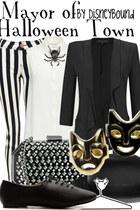 blazer - Zara pants - flats