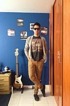 silver cardigan Bershka sweater